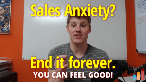 End sales call anxiety