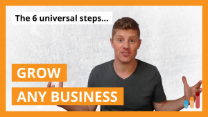6 Steps to Grow Any Business [based on 12 Months to $1 Million by Ryan Daniel Moran]