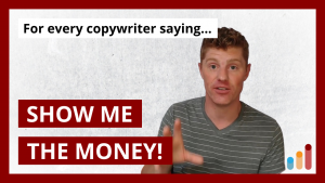 When you try to find a high-paying copywriting client…
